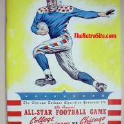 NFL Chams Vs College All-Stars 1934-1976