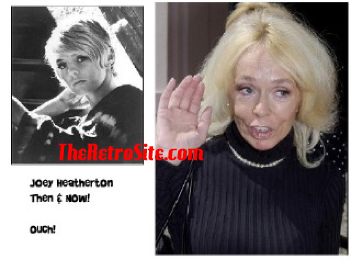 aging celebrities joey heatherton then and nowouch