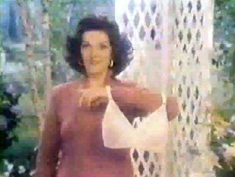 Jane Russell 1981 Playtex Bra Commercial