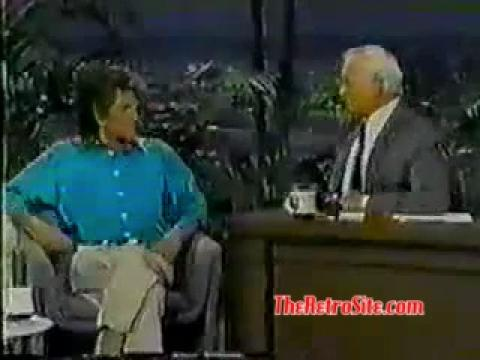 Michael Landon Final Tonight Show Appearance