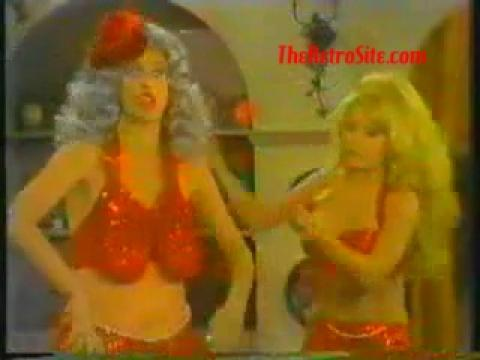 Carol Burnette and Charo