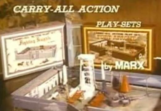 Action Play Sets by Marx