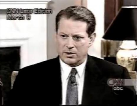 Al Gore Invents The Internet