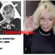 Aging Celebrities: Joey Heatherton Then and Now....Ouch !
