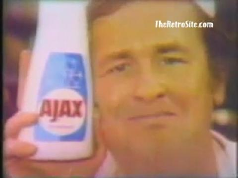 Ajax Dishwasher Man