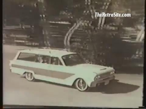 1963 Ford Fairlane Squire Commerical