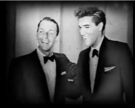 Frank Sinatra and Elvis Presley Duet