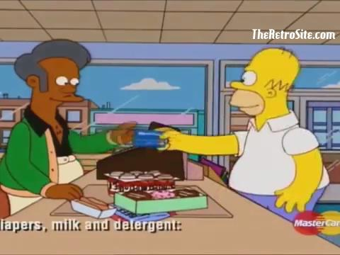 The Simpson's Mastercard Commercial