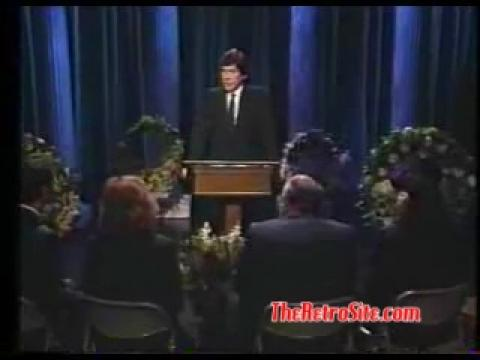 Johnny Carson Roget's Thesaurus Editor Eulogy