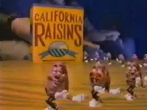 California Raisins Commercial 1986