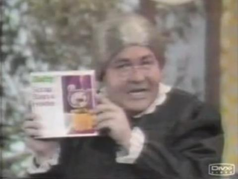 Jonathan Winters As Maude For Hefty Trash Bags