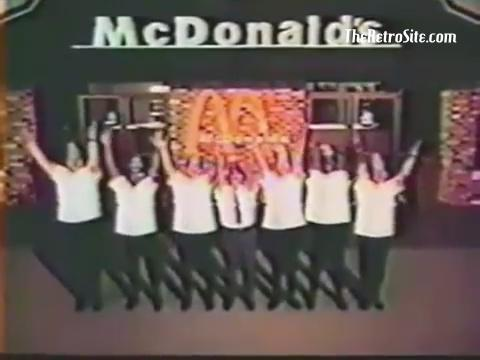 McDonald's You Deserve a Break Today 1971